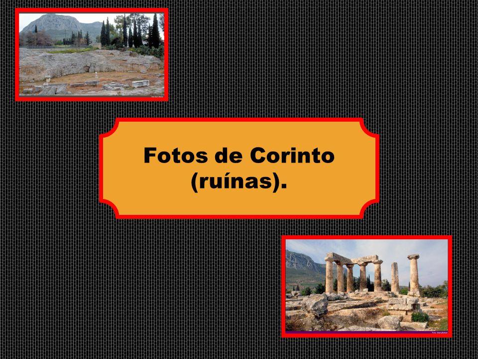 Fotos de Corinto (ruínas).