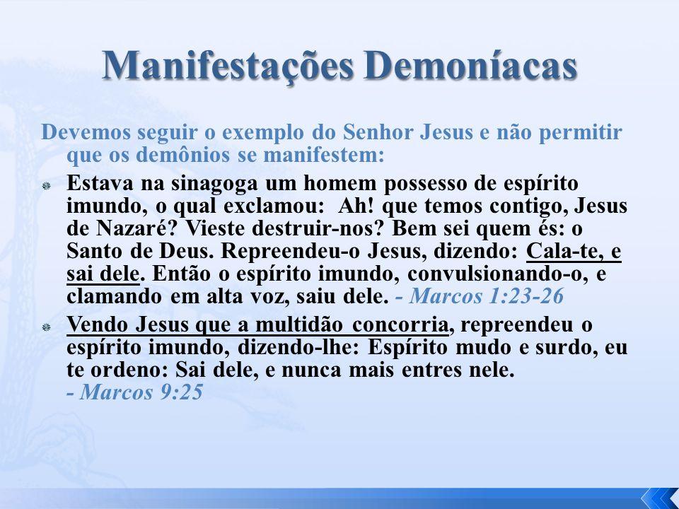 Manifestações Demoníacas