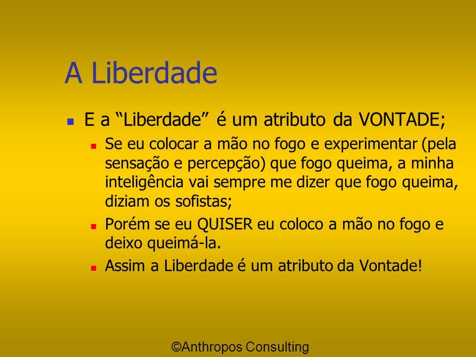 A Liberdade E a Liberdade é um atributo da VONTADE;