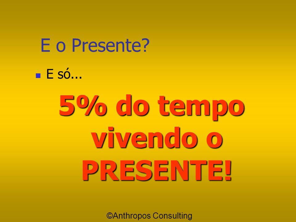 5% do tempo vivendo o PRESENTE!