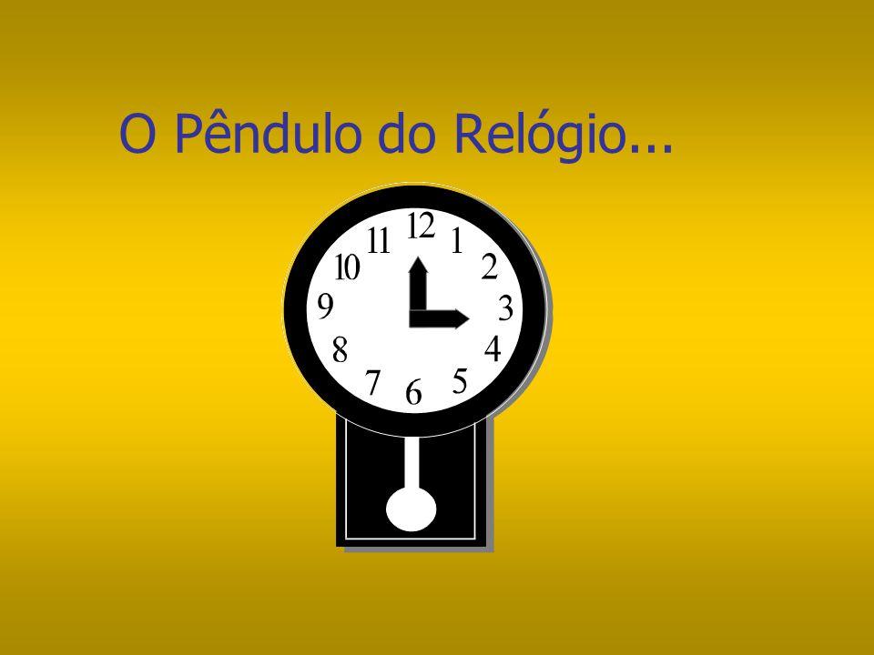 O Pêndulo do Relógio...