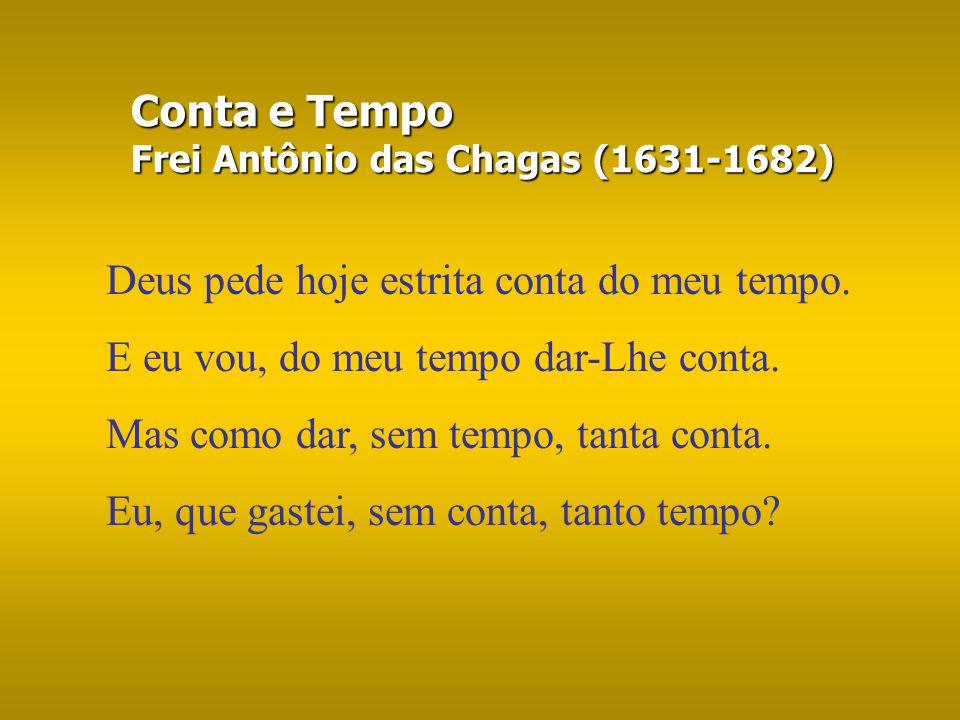 Conta e Tempo Frei Antônio das Chagas (1631-1682)