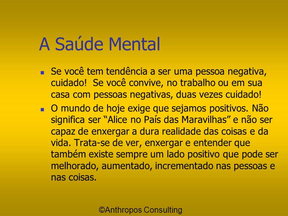 A Saúde Mental