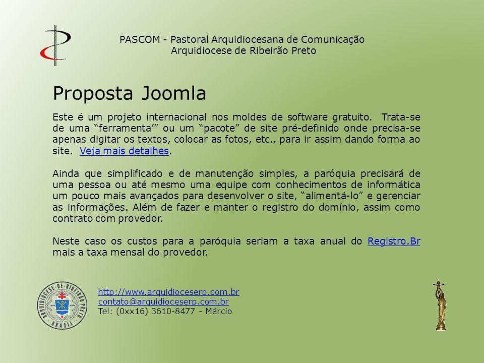 PASCOM - Pastoral Arquidiocesana de Comunicação Arquidiocese de Ribeirão Preto
