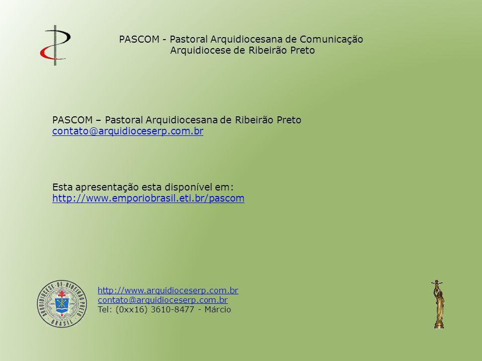 PASCOM – Pastoral Arquidiocesana de Ribeirão Preto