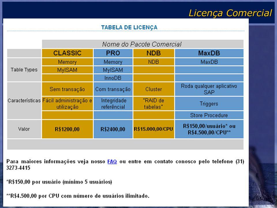 Licença Comercial