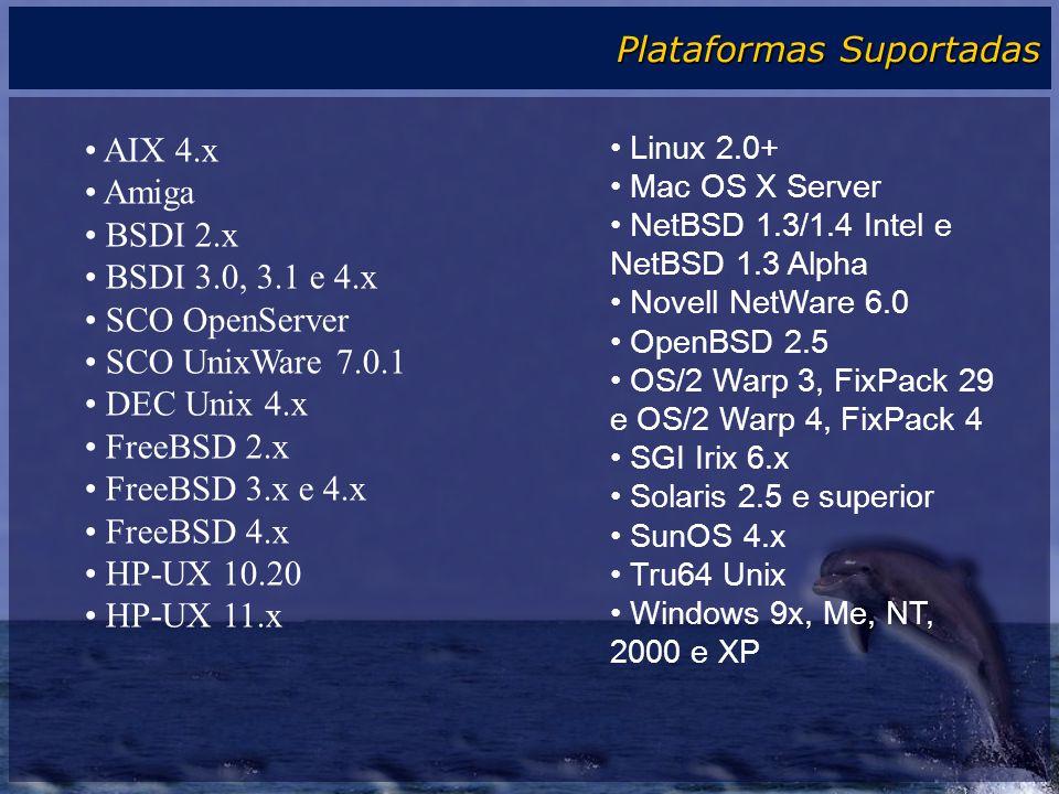 Plataformas Suportadas