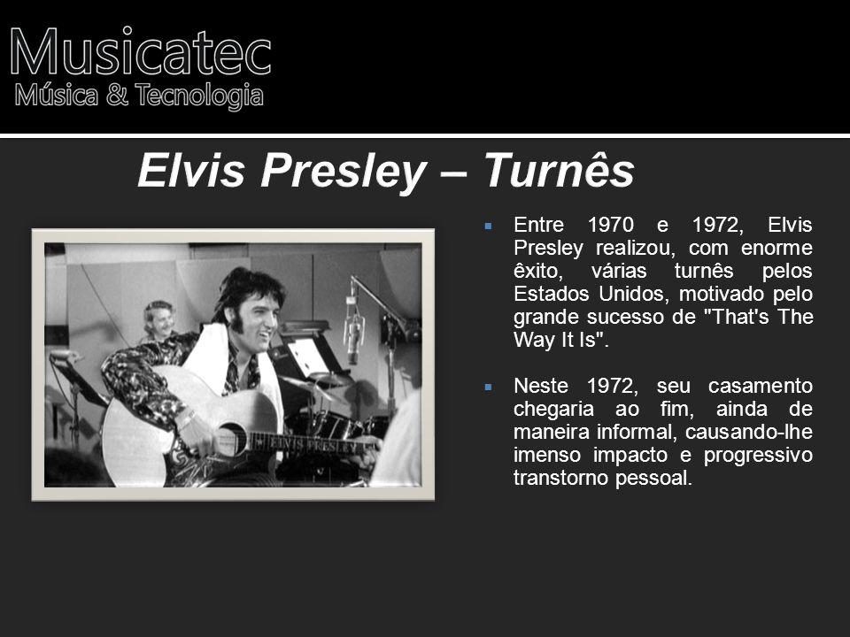 Elvis Presley – Turnês