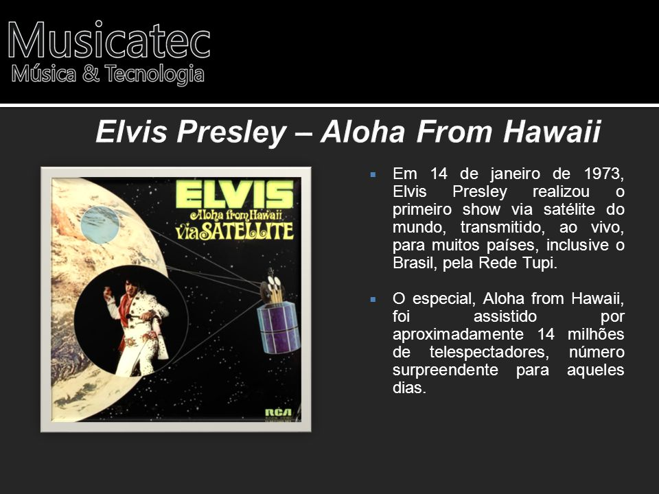 Elvis Presley – Aloha From Hawaii