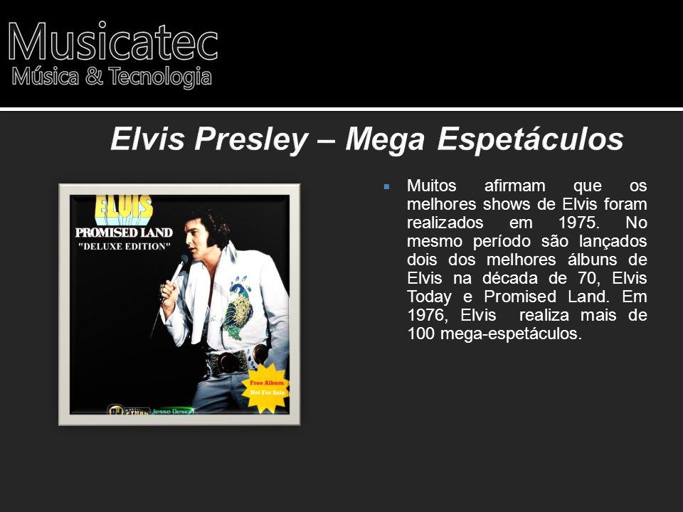 Elvis Presley – Mega Espetáculos