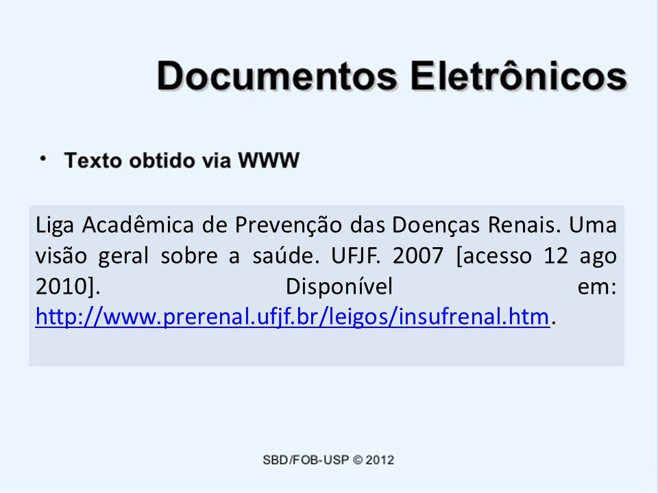 Liga Acadêmica de Prevenção das Doenças Renais