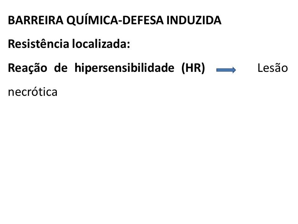 BARREIRA QUÍMICA-DEFESA INDUZIDA