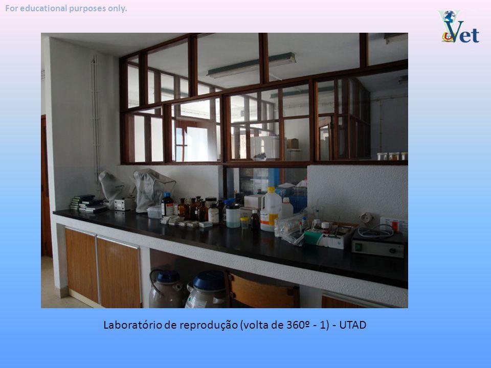 Laboratório de reprodução (volta de 360º - 1) - UTAD