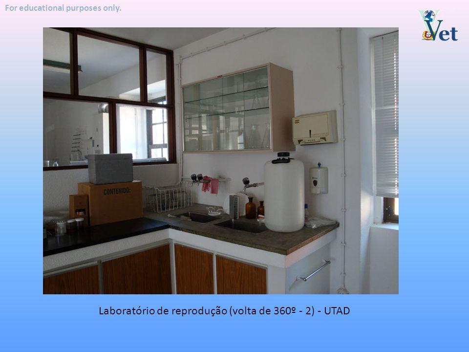 Laboratório de reprodução (volta de 360º - 2) - UTAD