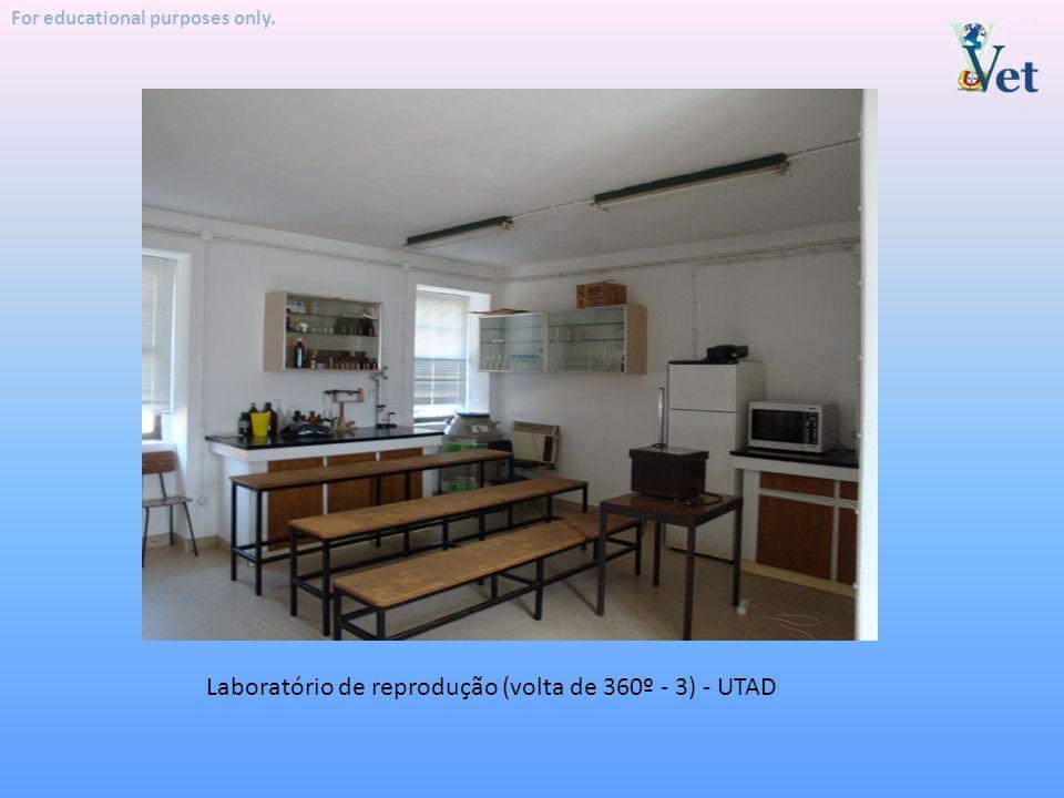 Laboratório de reprodução (volta de 360º - 3) - UTAD