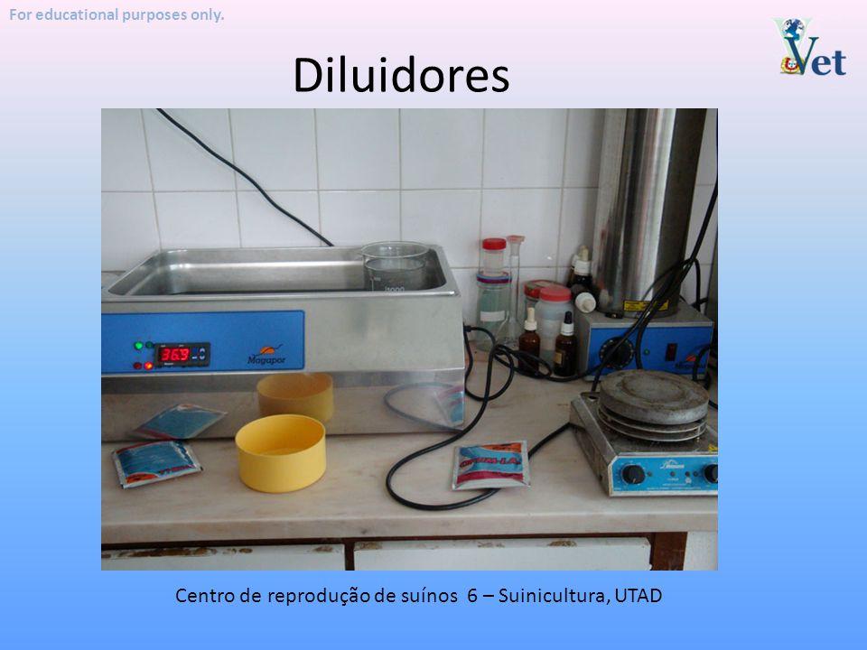 Diluidores Centro de reprodução de suínos 6 – Suinicultura, UTAD