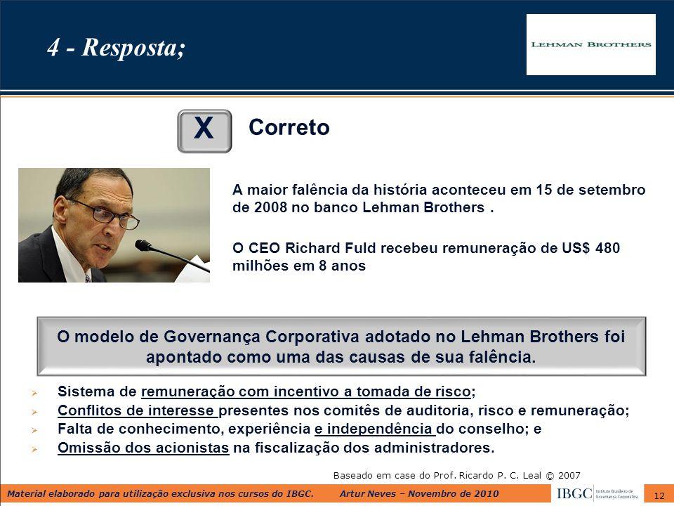 Baseado em case do Prof. Ricardo P. C. Leal © 2007