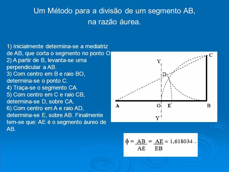 Um Método para a divisão de um segmento AB,