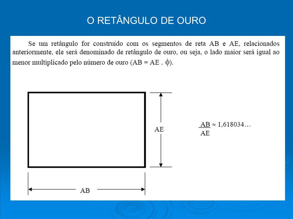 O RETÂNGULO DE OURO