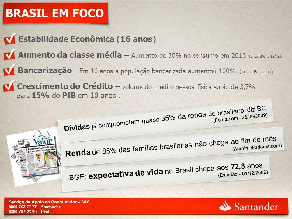 BRASIL EM FOCO Estabilidade Econômica (16 anos)