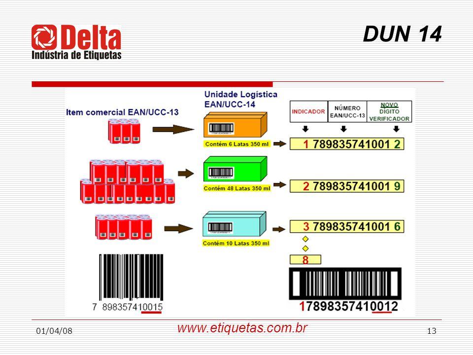 DUN 14 www.etiquetas.com.br 01/04/08