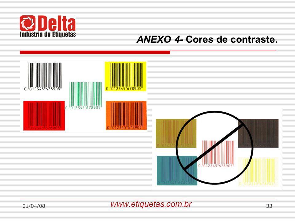 ANEXO 4- Cores de contraste.
