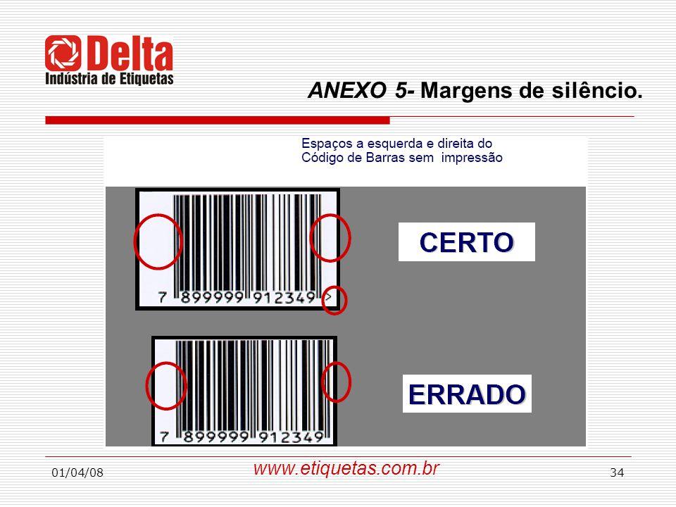 ANEXO 5- Margens de silêncio.