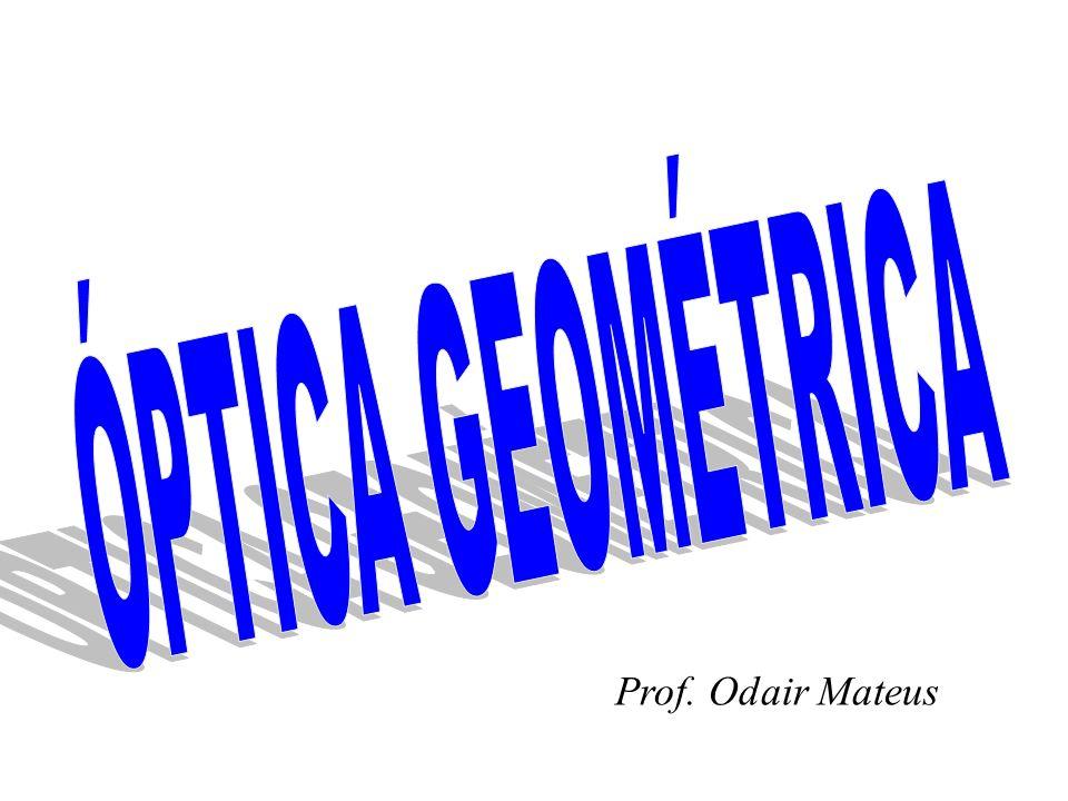 ÓPTICA GEOMÉTRICA Prof. Odair Mateus