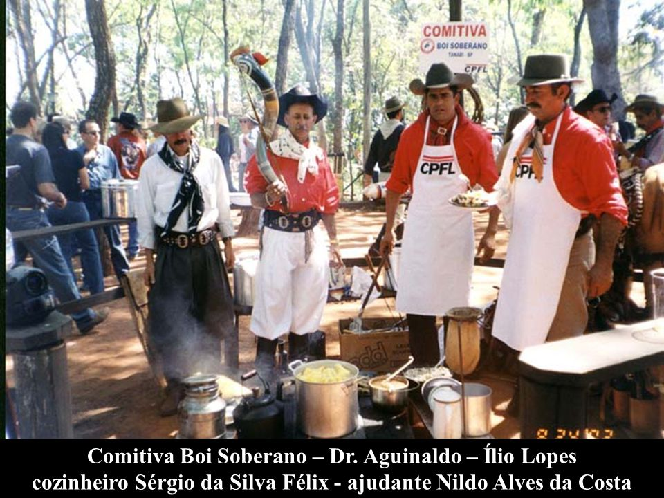 Comitiva Boi Soberano – Dr. Aguinaldo – Ílio Lopes