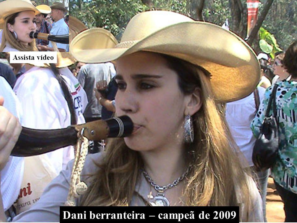 Dani berranteira – campeã de 2009