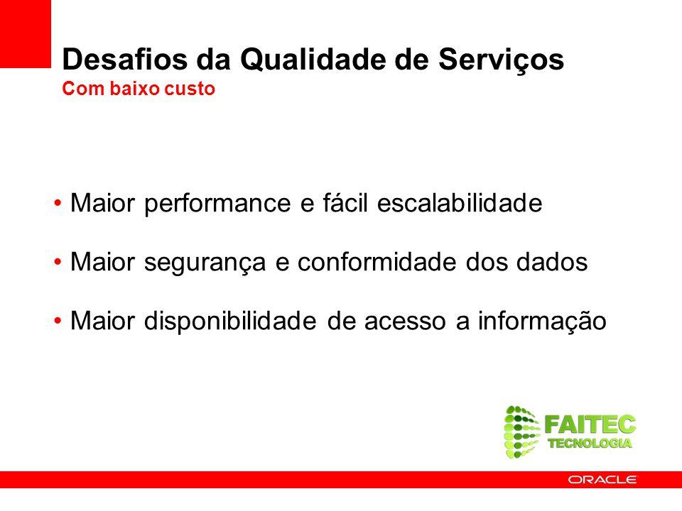 Desafios da Qualidade de Serviços Com baixo custo