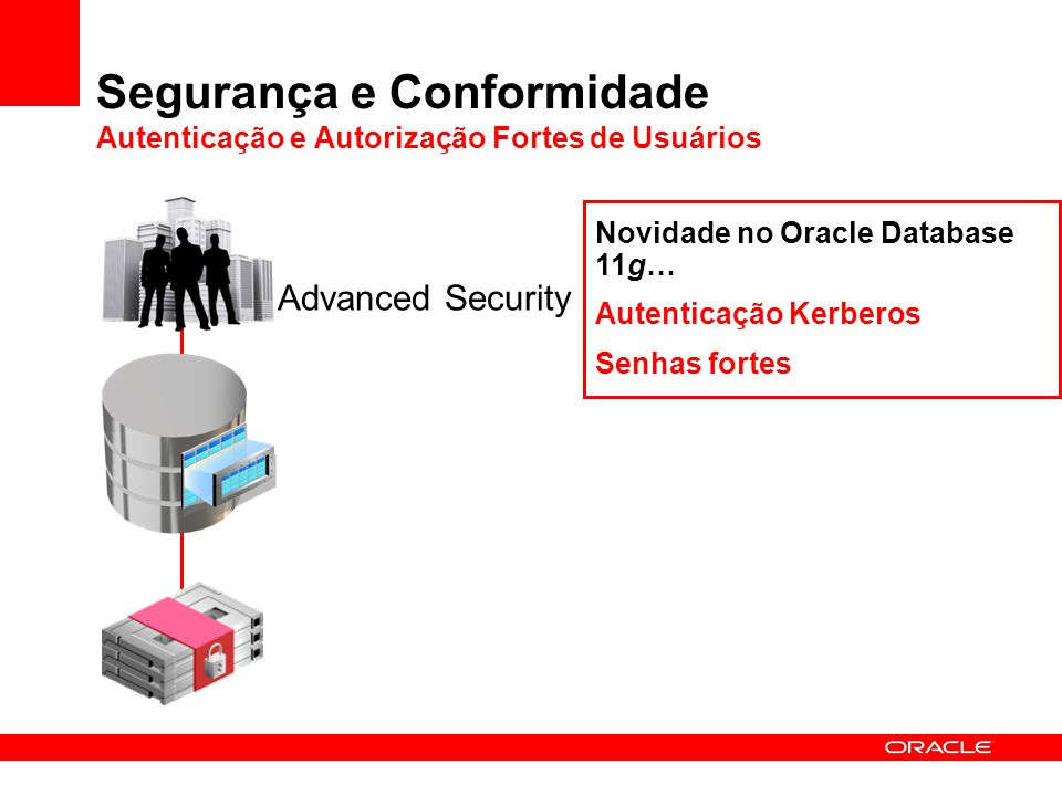 Segurança e Conformidade Autenticação e Autorização Fortes de Usuários
