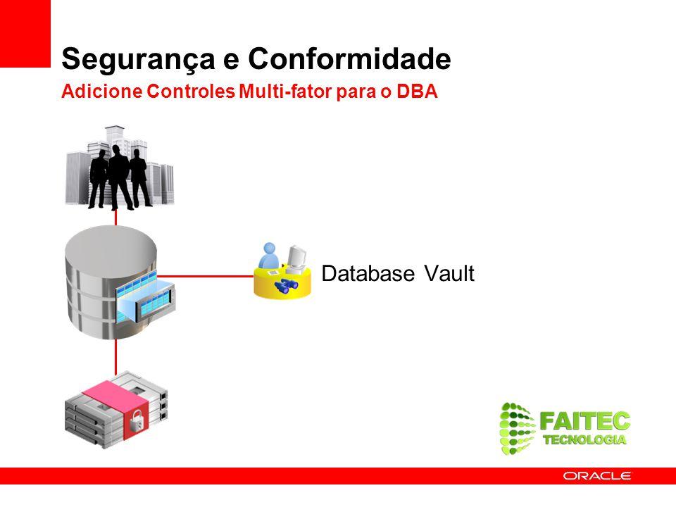 Segurança e Conformidade Adicione Controles Multi-fator para o DBA
