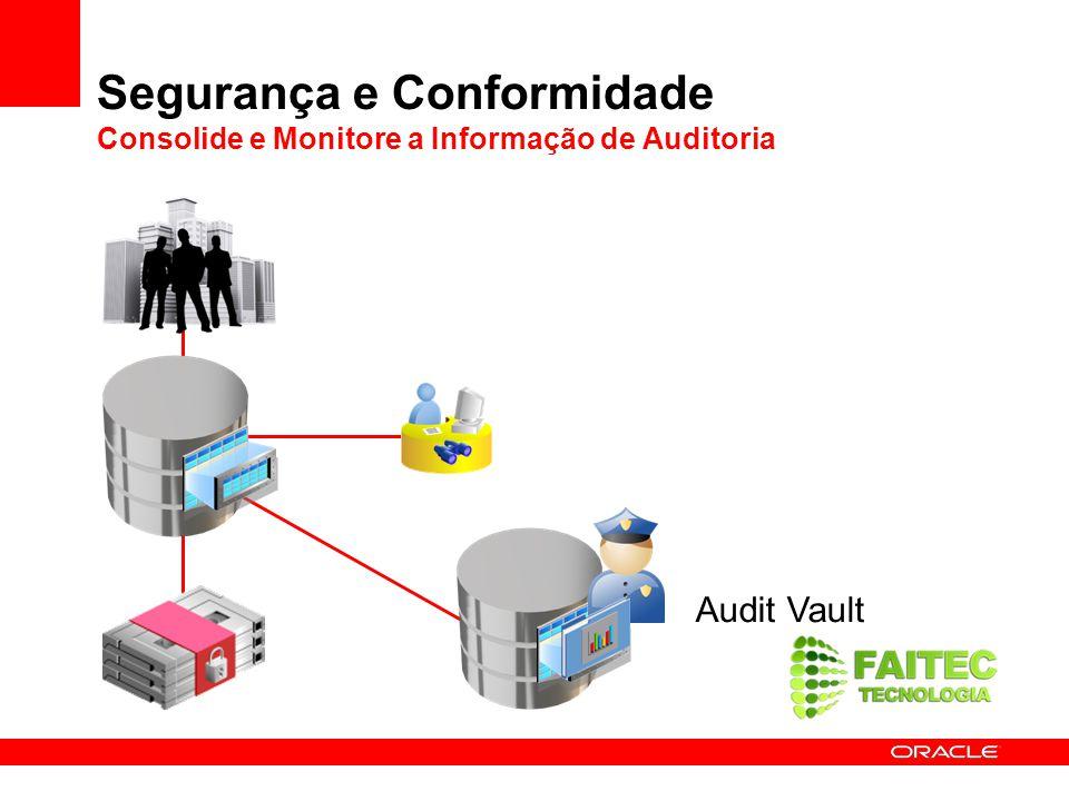 Segurança e Conformidade Consolide e Monitore a Informação de Auditoria