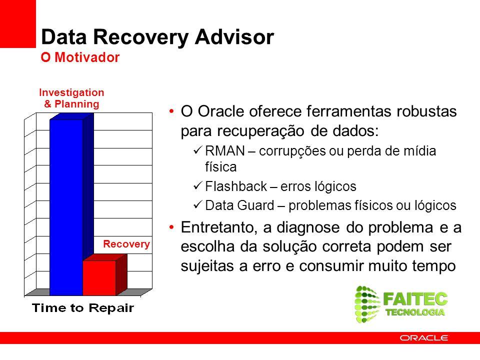 Data Recovery Advisor O Motivador