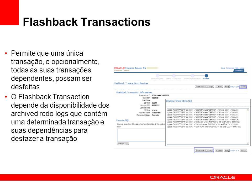 Flashback Transactions