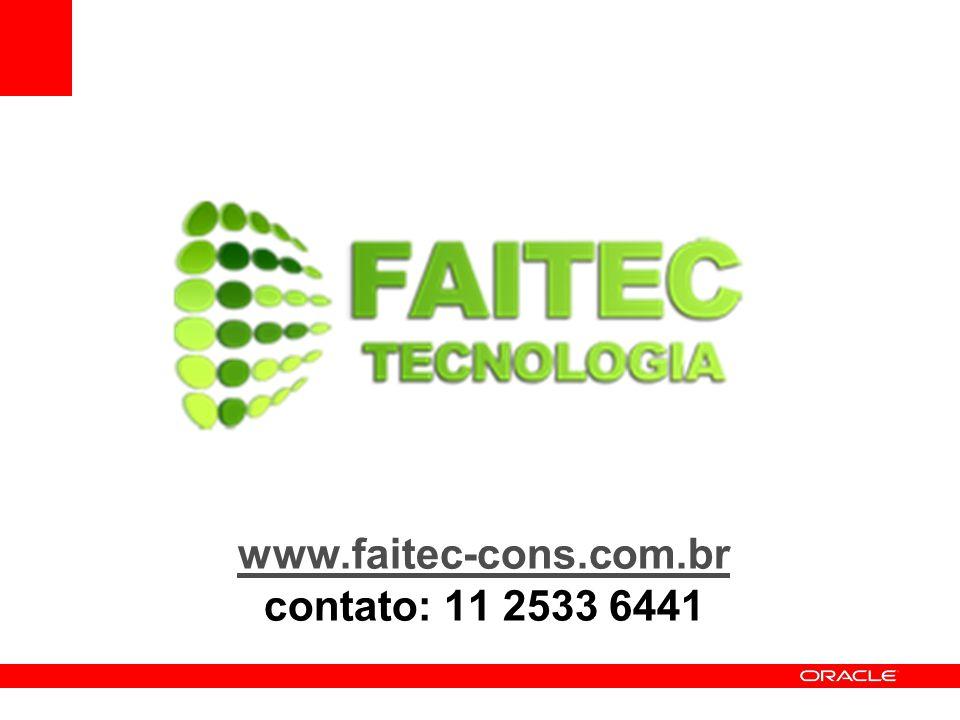 www.faitec-cons.com.br contato: 11 2533 6441