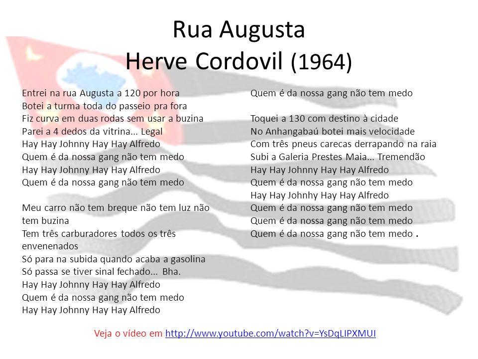 Rua Augusta Herve Cordovil (1964)