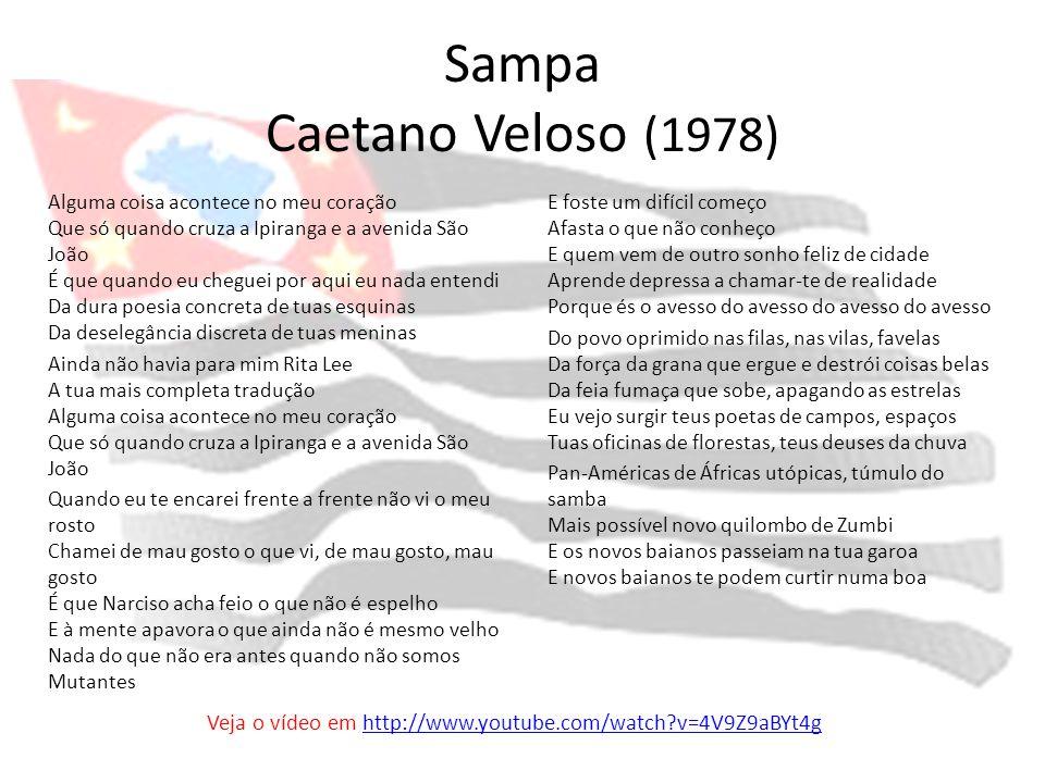 Sampa Caetano Veloso (1978)