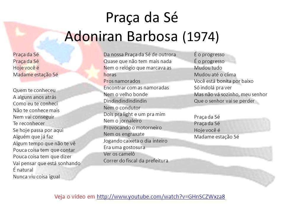 Praça da Sé Adoniran Barbosa (1974)