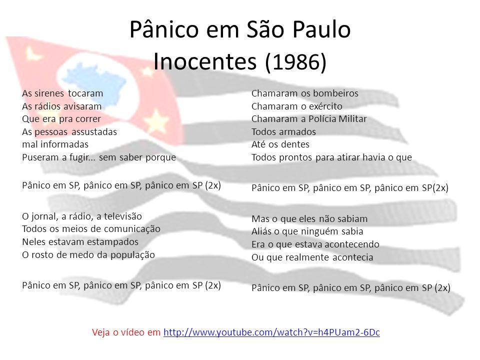 Pânico em São Paulo Inocentes (1986)
