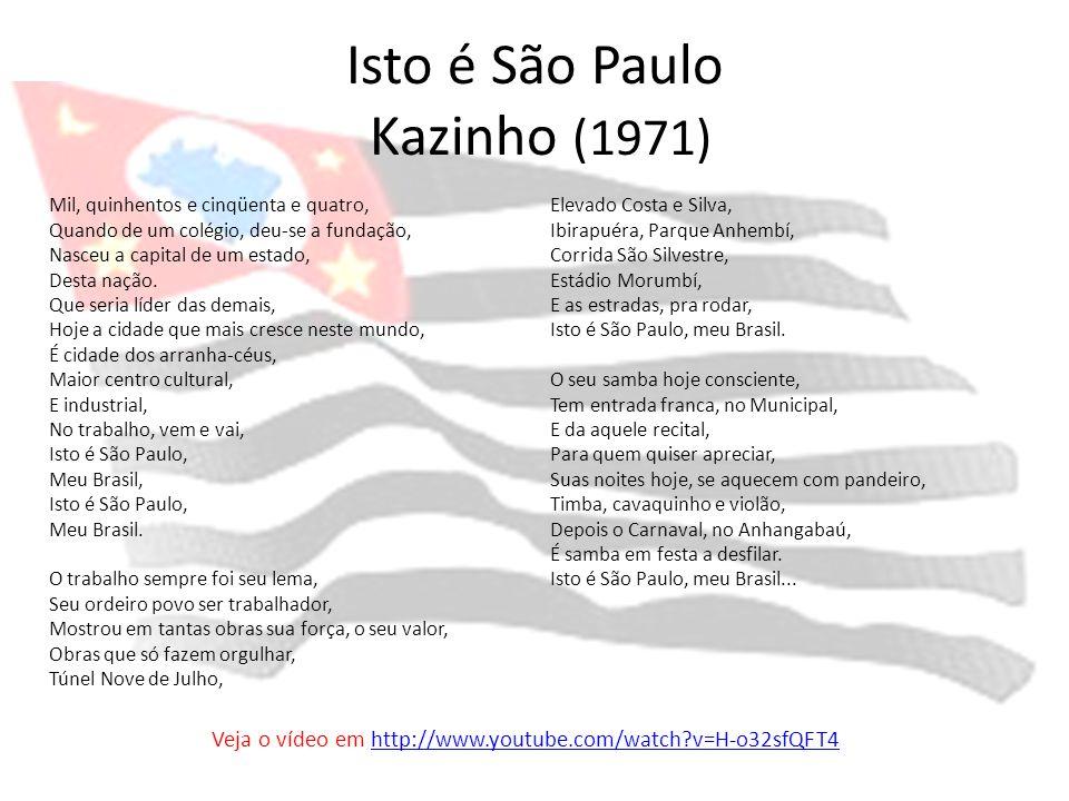 Isto é São Paulo Kazinho (1971)