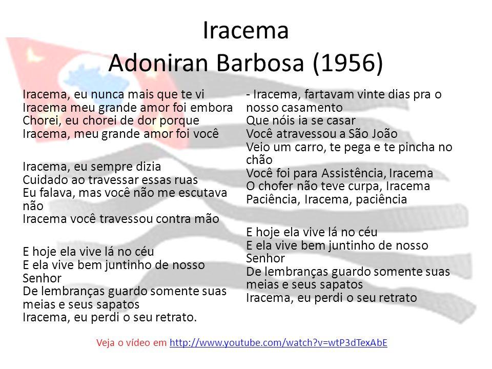 Iracema Adoniran Barbosa (1956)
