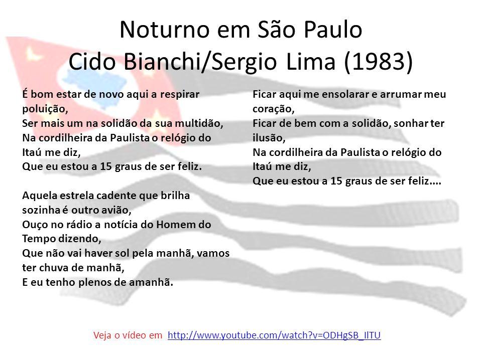 Noturno em São Paulo Cido Bianchi/Sergio Lima (1983)