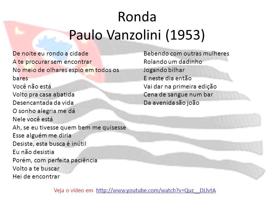 Ronda Paulo Vanzolini (1953)