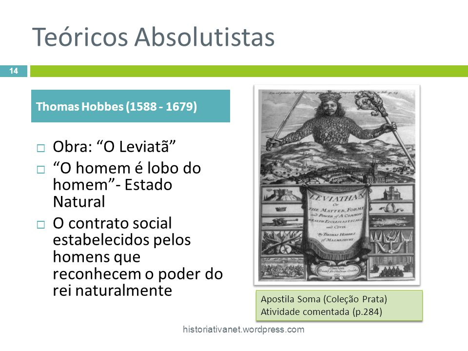 Teóricos Absolutistas