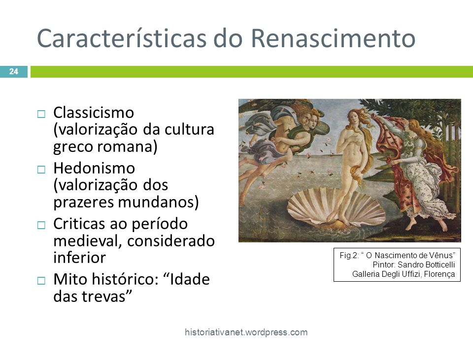 Características do Renascimento