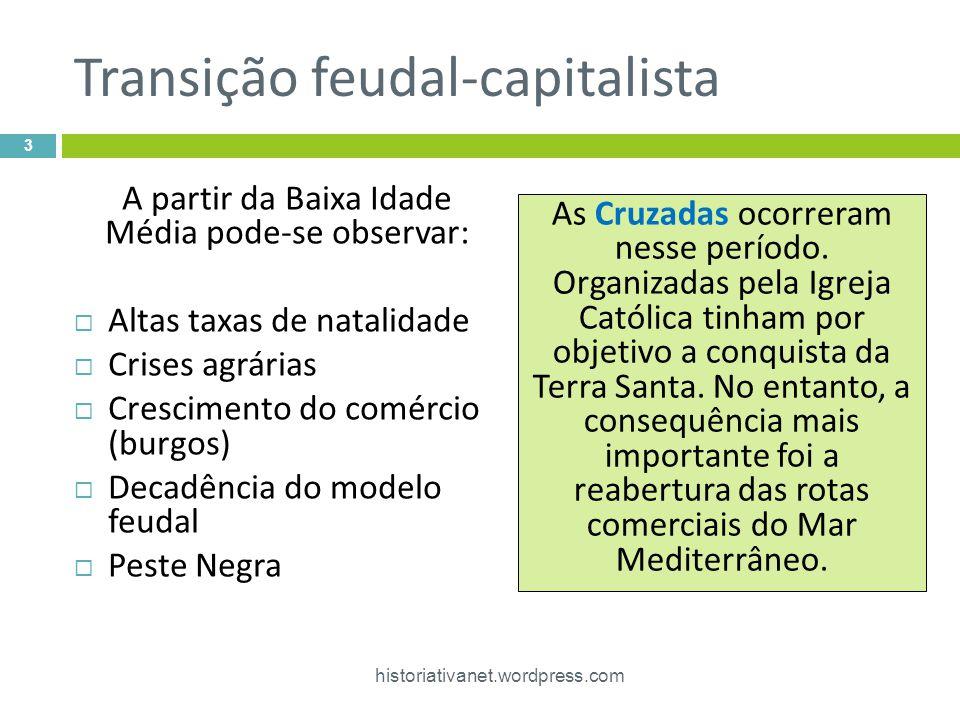 Transição feudal-capitalista