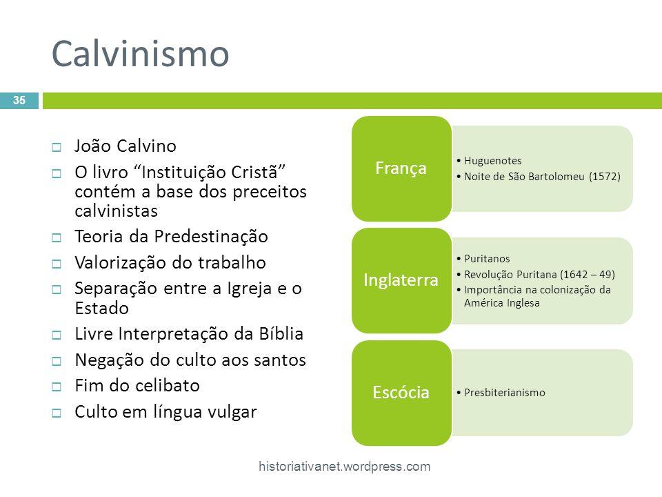 Calvinismo João Calvino