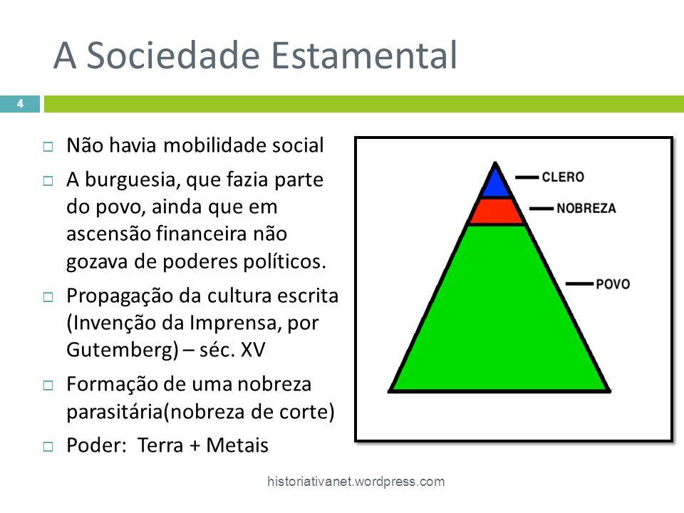A Sociedade Estamental